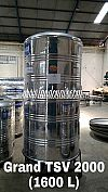 Supplier Toren Tangki Tandon Air Grand Stainless TSV 2000 (1600 liter) Harga Murah  Surabaya